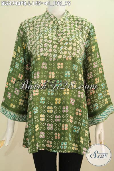 Pari Cape Batik busana batik halus berbahan kain baju batik blus