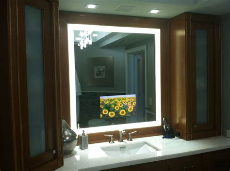 bathroom mirror with tv built in 88 bathroom mirrors with tv built in awesome ideas