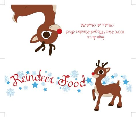 reindeer food printable gift tags 42 best make your own reindeer dust images on pinterest