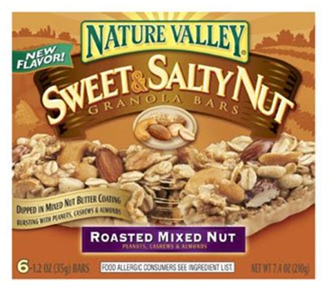 Granola Cashew Caffeine By Cleaneats nature valley granola bars new varieties junk food