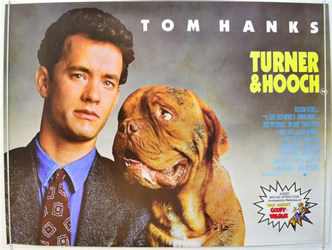 what of was in turner and hooch turner and hooch original cinema poster from pastposters