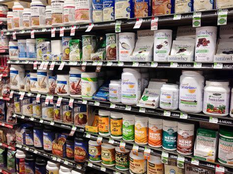 Shelf Of Whey Protein by Will He A Protein Powder Taste Test Gigi