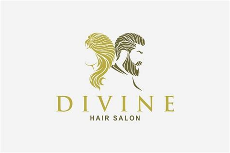hair salon logo logo templates creative market