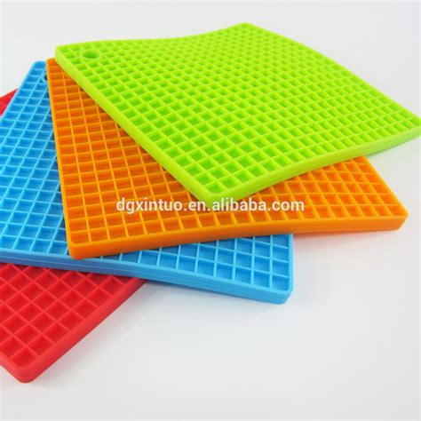 Desk Plastic Mat Plastic Silicone Rubber Decorative Heat Resistant Glass