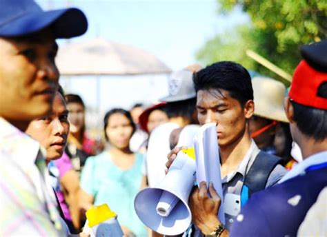 Demand Letter Myanmar Worker workers demand rights the myanmar times