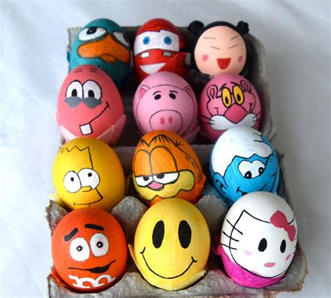 decorated eggs characters top 10 easter themed items for your home
