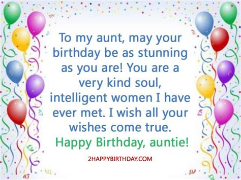 Quotes For Aunts Birthday Happy Birthday Auntie Wishes Quotes 2happybirthday