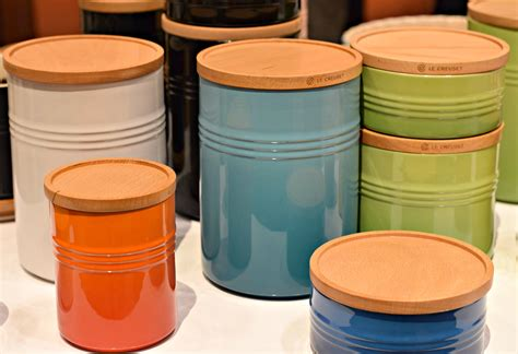 French Kitchen Canisters ihha lecreuset canisters west of the loop
