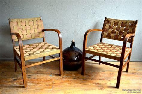 Paire de fauteuils Carl   L'atelier Belle Lurette