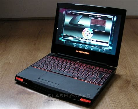Laptop Alienware M11x alienware m11x review slashgear