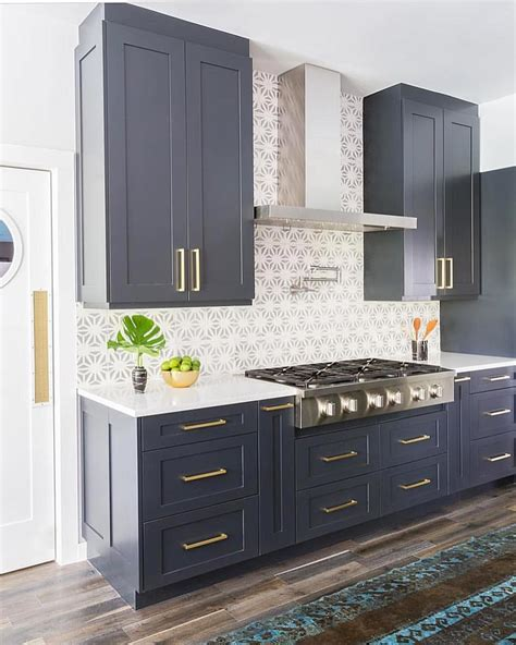 navy cabinetry