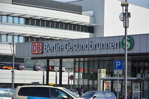 berlin gesundbrunnen blick auf gleis 8 des bahnhof berlin gesundbrunnen am 11