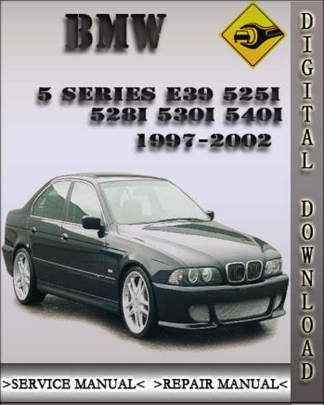 auto repair manual free download 2001 bmw 530 electronic throttle control 1997 2002 bmw 5 series e39 525i 528i 530i 540i factory service repa