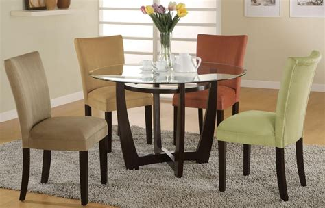 cappuccino dining room furniture collection bloomfield cappuccino round dining room set from coaster