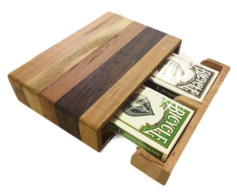 Wooden Gift Card Box - new and popular hand crafted wooden card box with