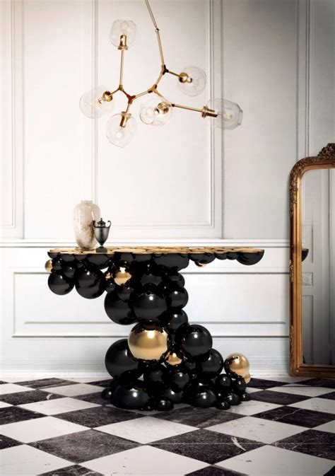 10 best modern console tables for luxury interior design