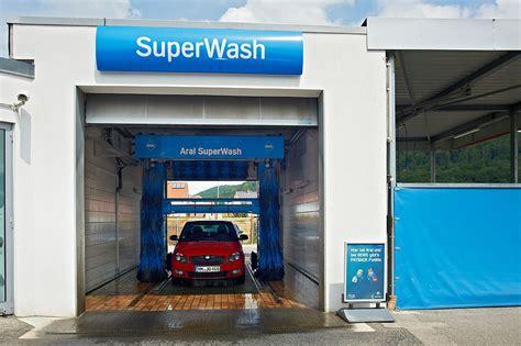 Auto Waschanlage by Waschanlage Aral Reparatur Autoersatzteilen
