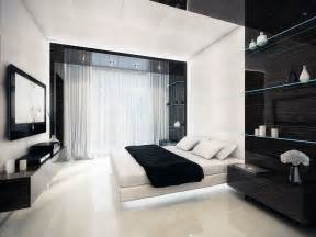 black and white bedroom design with ideas
