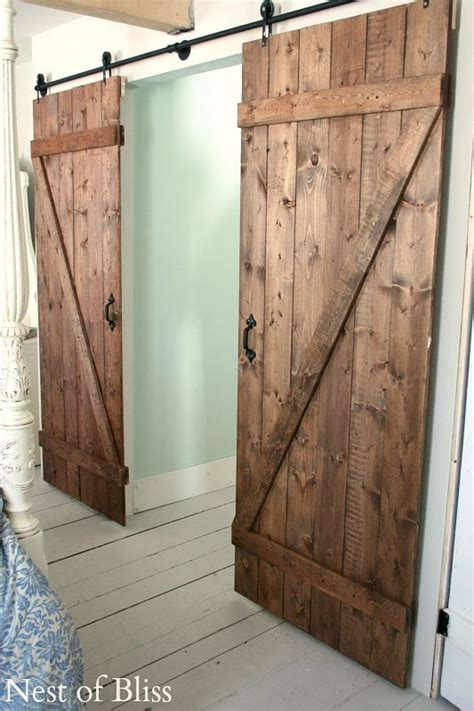 how to build an interior barn door 25 best ideas about diy barn door on diy
