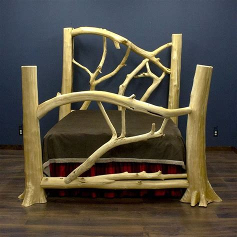 Jhe Log Furniture by 25 Best Ideas About Log Bed Frame On Log Bed