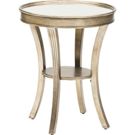 mirror accent tables round mirror accent table home pinterest