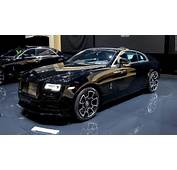 Rolls Royces Black Badge Wraith  Cool Cars From The 2016 Geneva
