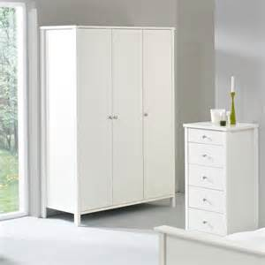 stockholm white 3 door wardrobe large wardrobe