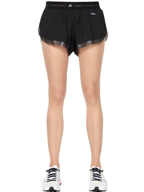 Adidas Stella Mc Cartney Running Shorts 1 adidas by stella mccartney adizero running shorts in black lyst