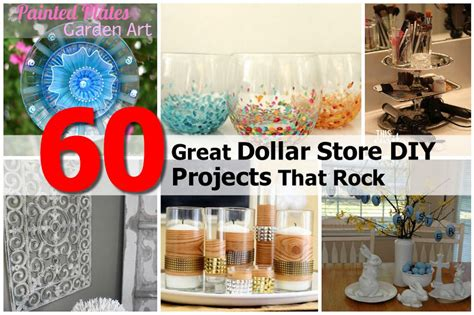 diy dollar store crafts 60 great dollar store diy projects that rock
