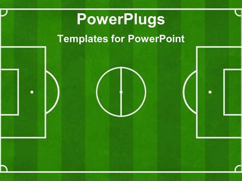 Powerpoint Template Soccer Football Ground Background Soccer Playground Football Playground Football Field Powerpoint Template