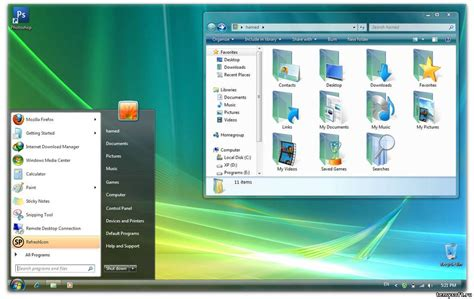 new themes for windows vista скачать тему new themes vista свежая тема vista для