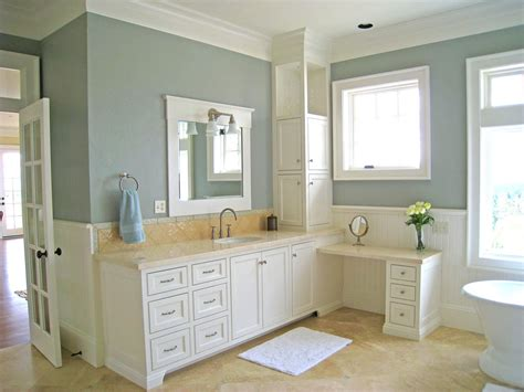 Paint Bathroom Vanity Ideas Amazing Of Simple White Color Painted Bathroom Vanity By 2918