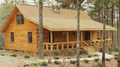 log home design plan and kits for carolina