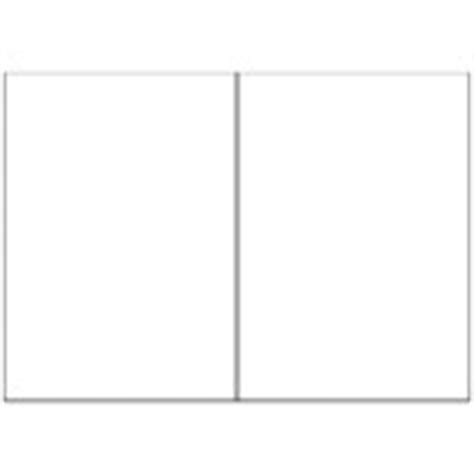5 X 7 Folder Card Template For Publisher by A5 Half Fold Greeting Cards 1 Per Page Portrait Avery