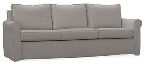 Cameron Roll Arm Grand Sofa Slipcover Performance Tweed Tweed Sofa Slipcover
