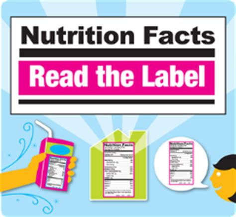 read the label youth outreach campaign healthy kids today