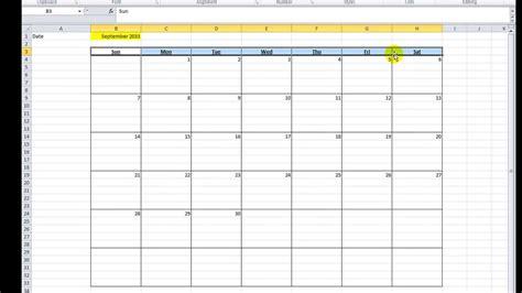 create a calendar template calendar excel how to make calendar template 2016