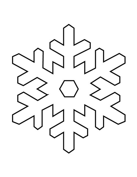 templates for snowflakes snowflake stencil h m coloring pages