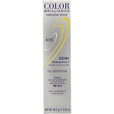 ion color brilliance intensive shine 6n dark natural ion color brilliance intensive shine demi permanent creme
