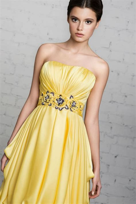 Wedding Dress Yellow by Yellow Wedding Dresses