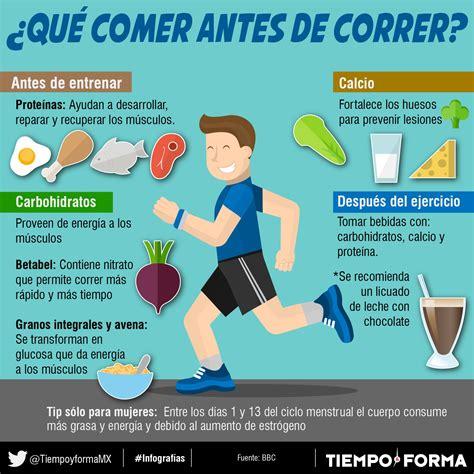 comer y correr 8490328005 antes de correr dietas de nutricion y alimentos