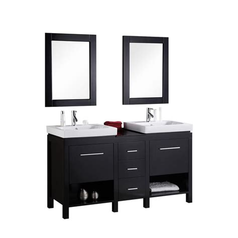 home depot design element vanity design element new york 60 in w x 19 in d vanity in