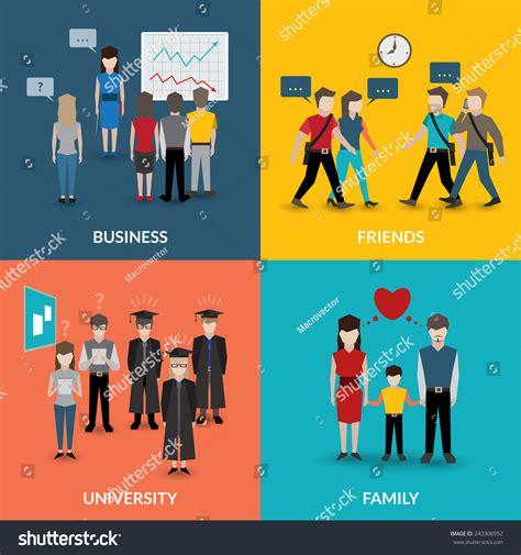 behaviour pattern en francais people social behavior communication patterns four flat
