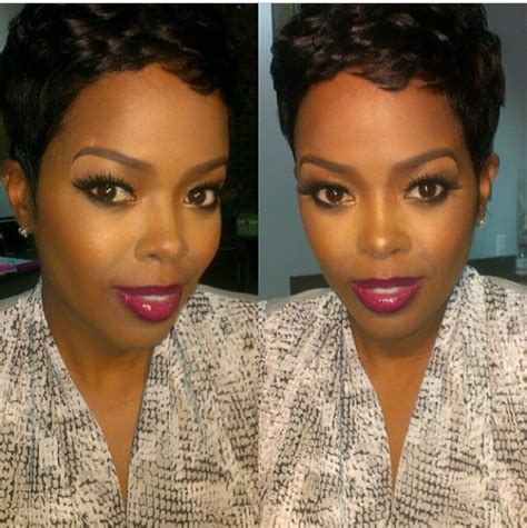 short hair styles worn by malinda williams 1020 best images about makeup for pretty brown skin 1 on