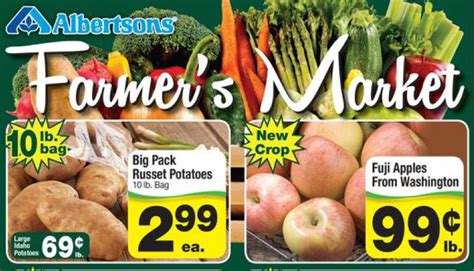 albertsons grocery products sales farmers market