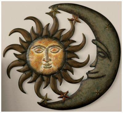 Sun And Moon Decor by Sun Moon Wall Decor Sun