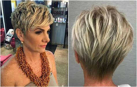 frisuren und haarfarbe ab  kurzhaarschnitt blond