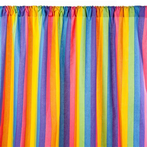rainbow curtains rainbow curtain panel 48x84 by sin in linen fab com