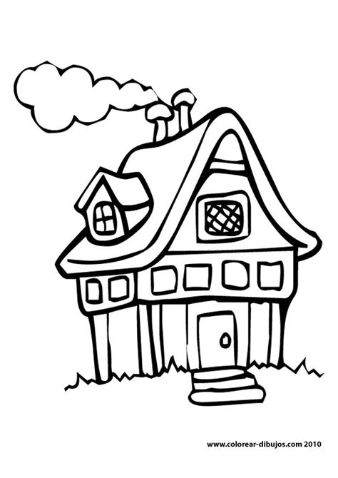 coloring pages for little house in the big woods mi colecci 243 n de dibujos casas para colorear