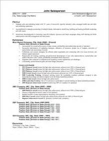Resume Sles For It by Resume For Cosmetic Sales Associate